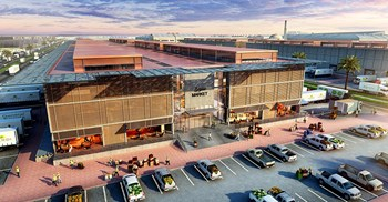 An artist's impression of Dubai Food Park ©AETOS Wire