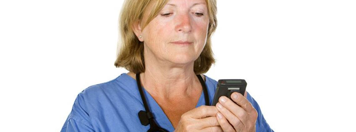 Pagers are respected in the NHS for their dependency © 123RF