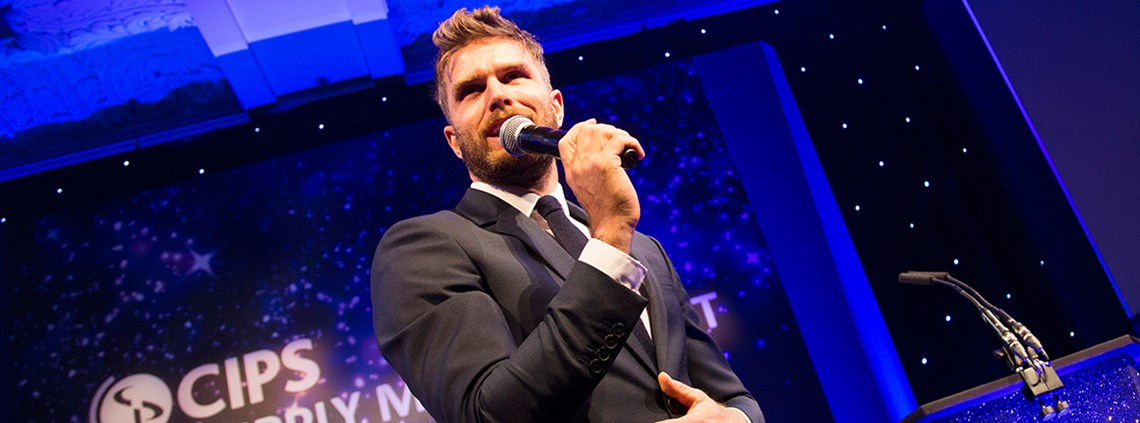 Joel Dommett admitted he had no idea what procurement was