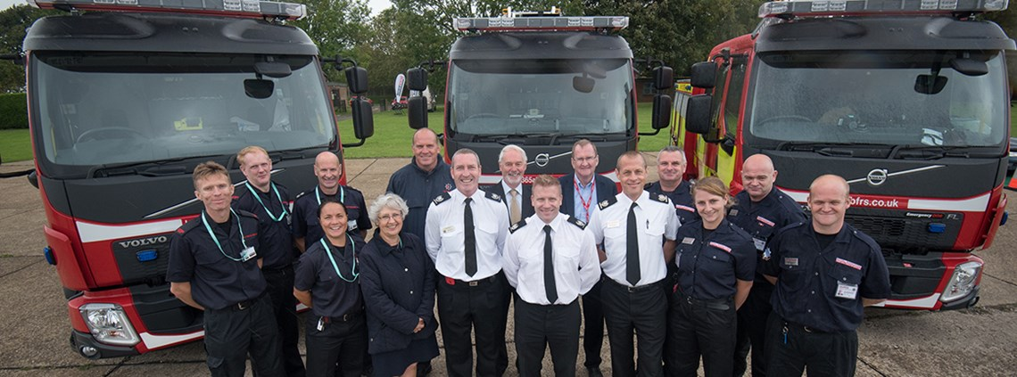 The fire services paid £8.5m for 37 fire engines.