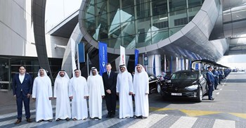 The new additions to the fleet were officially deployed at a ceremony outside Dubai Airport ©RTA