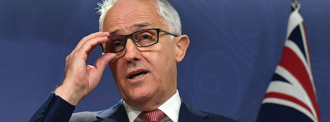 Prime minister Malcolm Turnbull told LNG exports to shore up domestic supply or face export limits © PA Images