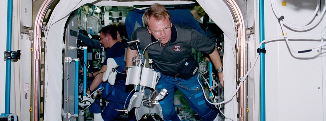 Australian NASA astronaut Andy Thomas lobbied for a national space agency © NASA