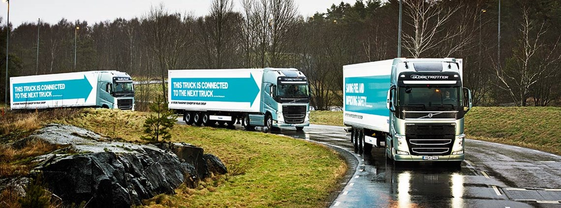 Platooning is likely to cause a drop-off in demand for truck drivers