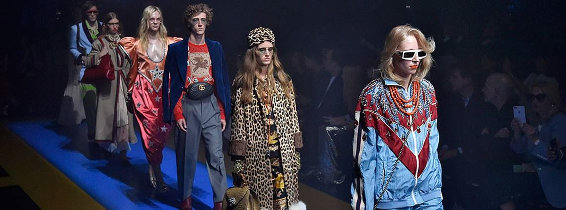 Gucci chief executive Marco Bizzari said the company was committed to sustainability © PA Images