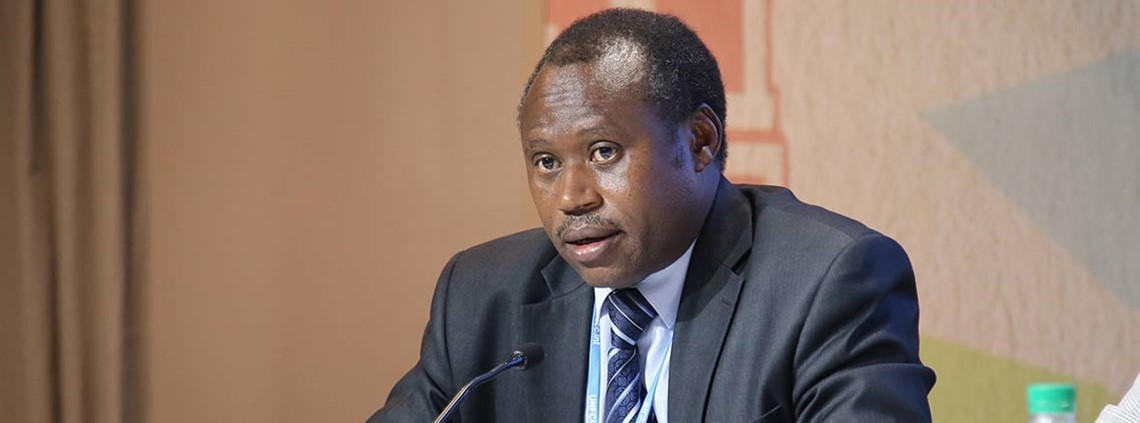 Uzziel Ndagijimana said the proposal would support the Made in Rwanda initiative ©Ministry of Environment Rwanda