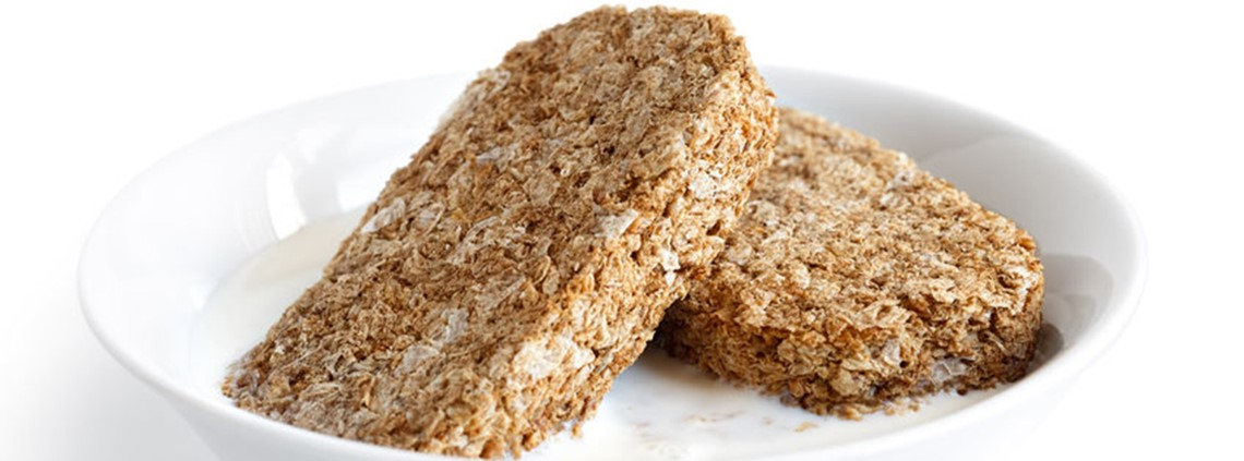 The wheat in Weetabix is sourced from within 50 miles of the factory © 123RF