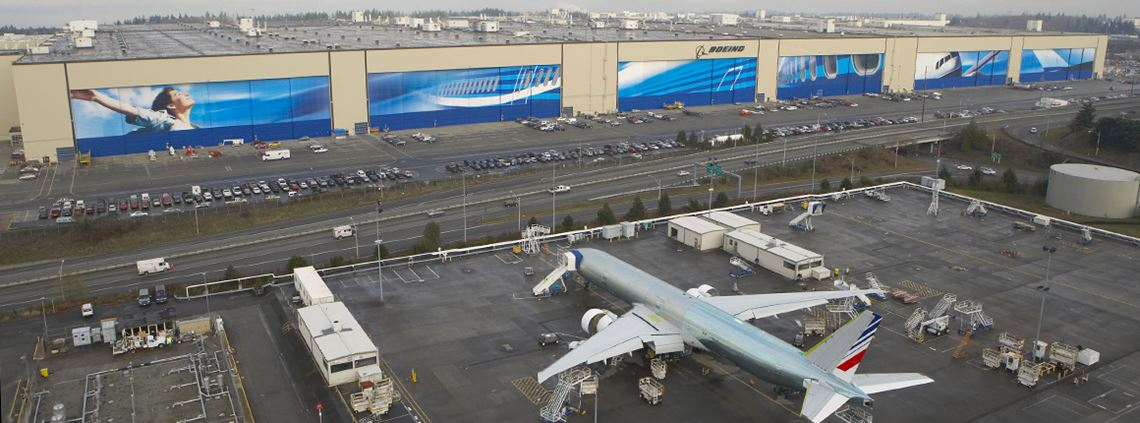 Boeing said its new supply chain organisation would be more efficient, effective and nimble ©Boeing