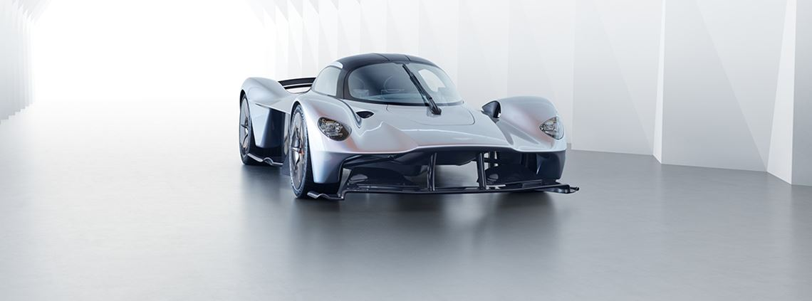 Aston Martin's new Valkyrie is among the vehicles at risk if production is paused over Brexit © Aston Martin