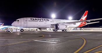 Qantas said it would begin using the biofuel in flights in 18 to 24 months © Qantas