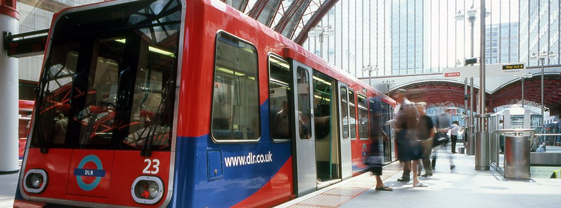 The DLR currently carries 122m customers a year ©Transport for London
