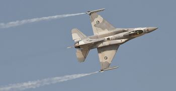 Upgrades to the UAE's fleet of F-16s were among the purchases made at this year's Dubai Airshow ©Lockheed Martin