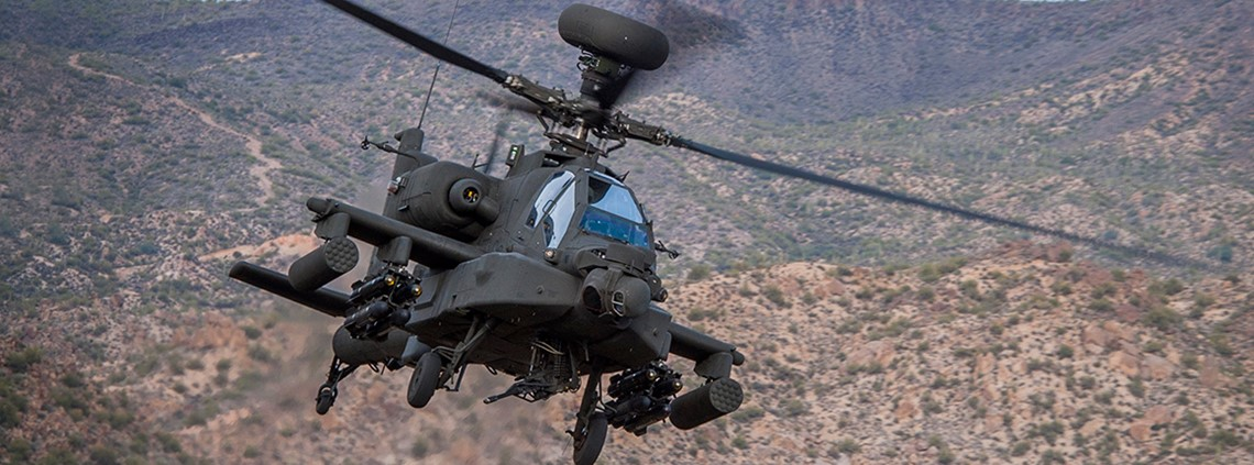 Boeing India president Kumar said the Indian army had ordered Apache helicopters from Boeing © Boeing
