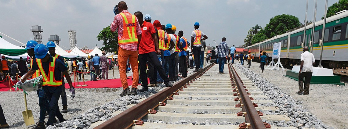 New Chinese-built railways are improving Nigeria's infrastructure ©Getty Images