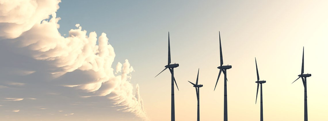 Wind power is a growing source of renewable energy ©123RF