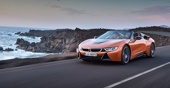 The BMW i8's improved battery technology now produces 143bhp © BMW