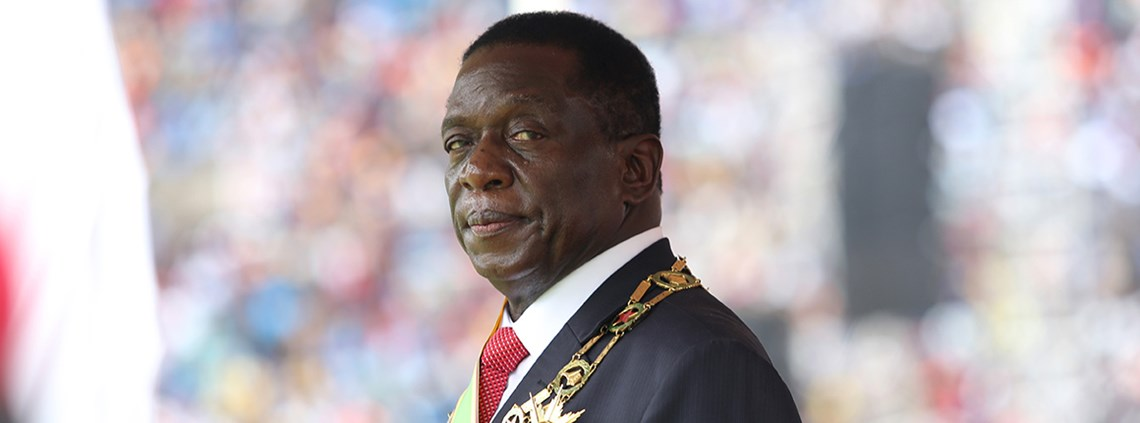 Emmerson Mnangagwa has inherited a country where eight in 10 people have no job © Xinhua/PA Images