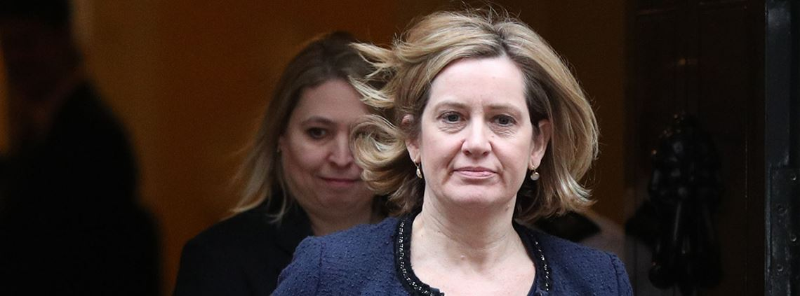 Home secretary Amber Rudd said tackling corruption would create a fairer society © PA Wire/PA Images