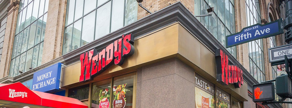 Wendy's will buy 15% of its beef from producers who have reduced antibiotics use © SIPA USA/PA Images