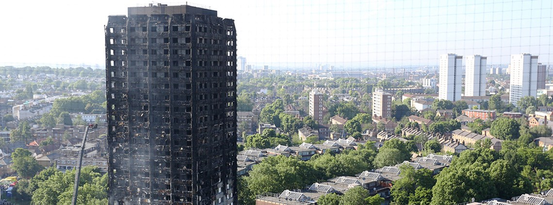 August saw calls for procurement to be part of the Grenfell Tower enquiry © PA Images