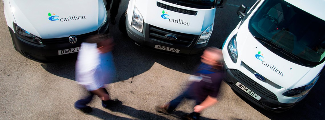 Carillion announced its insolvency after a weekend of crisis talks ©Carillion PLC