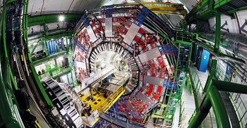 The Compact Muon Solenoid is one of two particle physics detectors on the Large Hadron Collider © CERN