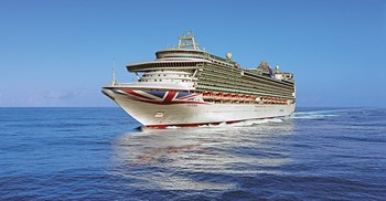 The 19-deck ship Ventura is a challenge for Carnival's procurement team ©P&O Cruises/Carnival UK