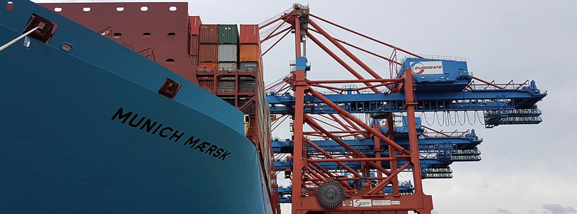Paperwork is estimated to make up a fifth of shipping costs © Maersk