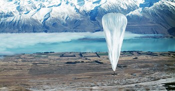 Google's Project Loon ©Jon Shenk