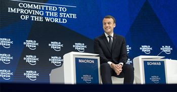 On trend: French PM Macron called for a true global contract to invest in human capital ©PA Images