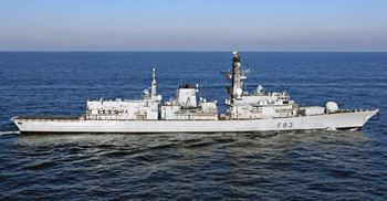 The Ministry of Defence failed to factor £1.3bn in cost relating to new fleet of frigates when calculating its budget © MoD