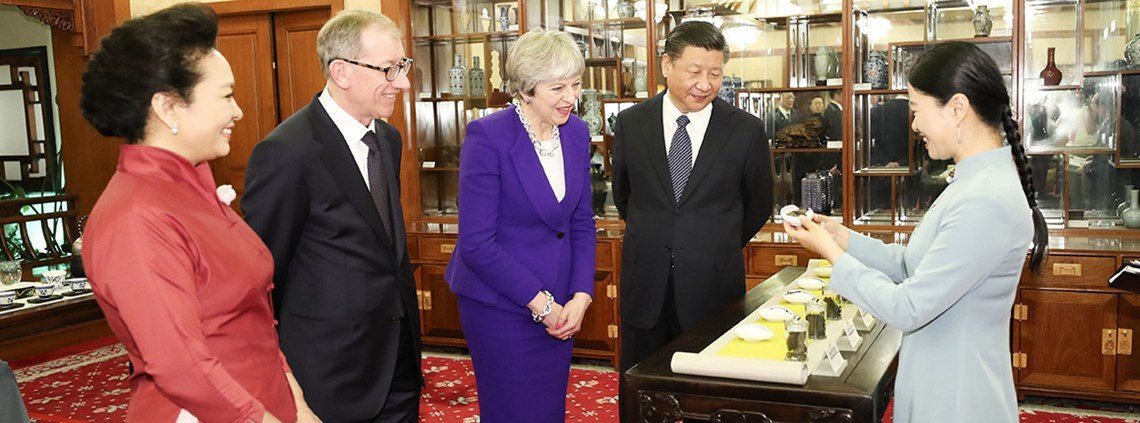 Huawei's made its pledge following PM Theresa May's visit to Beijing last week © PA Images