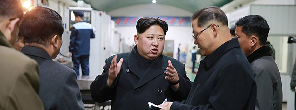 N.Korea leader Kim Jong Un has rapidly developed his country's missile and nuclear programmes © PA Images