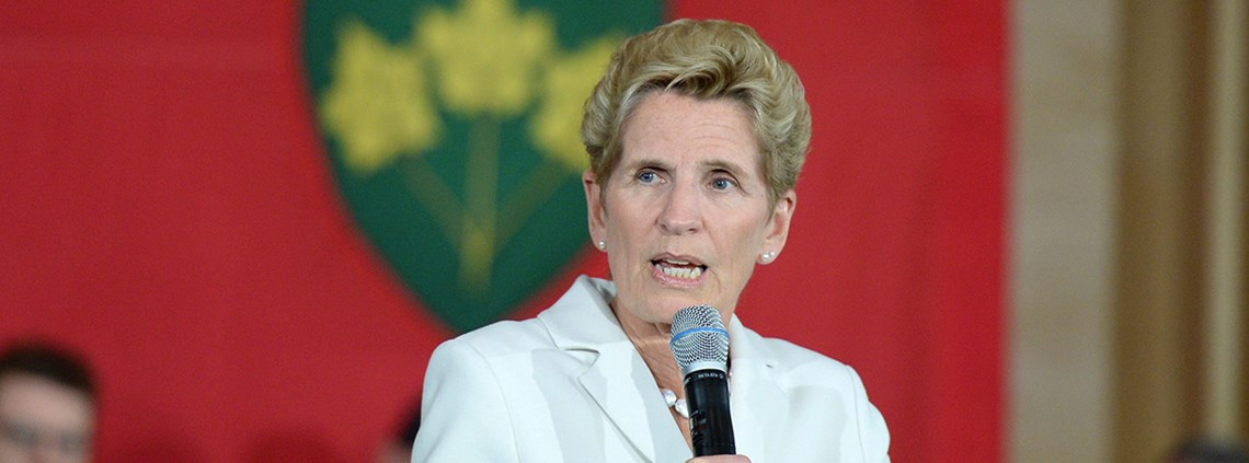 Ontario premier Wynne said US states adopting Buy American policies would be targeted © PA Images