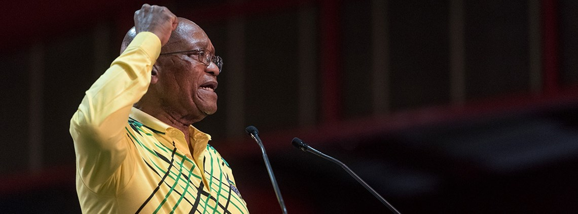 Jacob Zuma is facing calls to stand down © Dave Naicker/Xinhua News Agency/PA Images