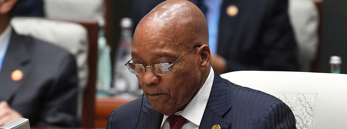 Jacob Zuma's resignation yesterday ended a months-long standoff within the ruling ANC party ©PA Images