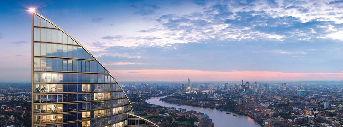 The £800m Spire London development at West India Quay was the largest construction project in January