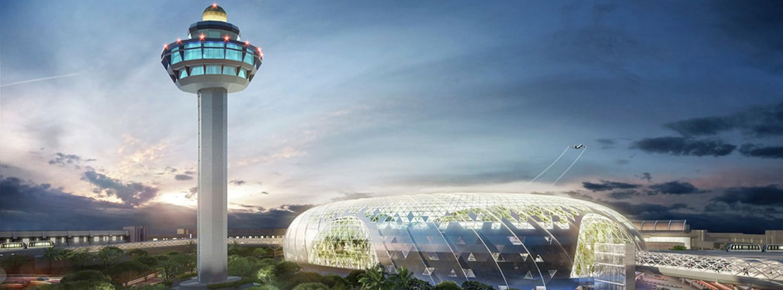 'The Jewel' is a project to boost the Changi airport's leading hub status, along with Terminal 5 plans © Jewel Changi Airport Devt Pte. Ltd