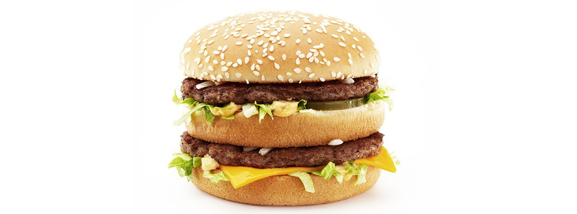 The Big Mac cannot be served without 26g of iceberg lettuce ©McDonalds