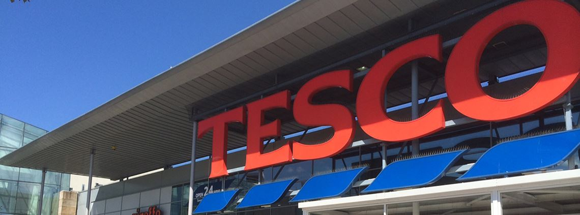 Tesco's merger with Booker was proposed in 2017 with an expected procurement savings of £96m ©Tesco PLC