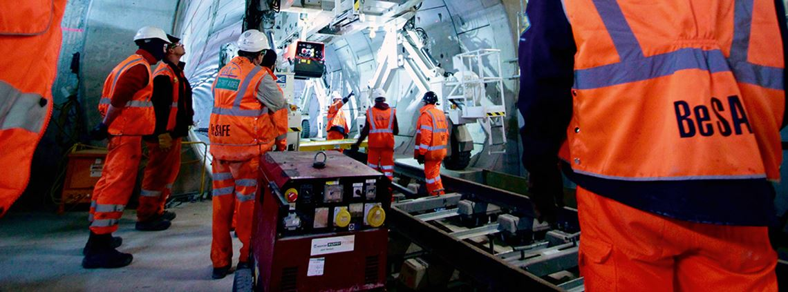 Hard stuff. But Crossrail's procurement is caring too ©Crossrail