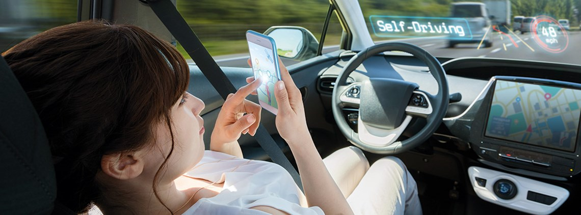 Hands-free driving is necessitating a raft of new legislation ©Shutterstock