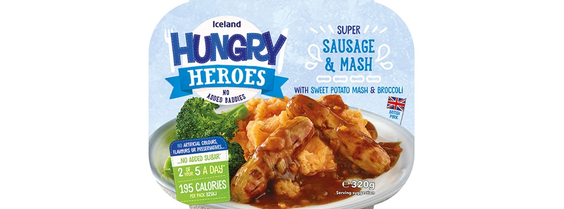 Iceland's new ready meals range will all have recyclable trays