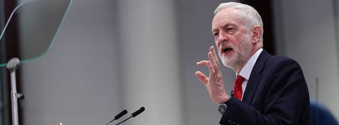 Corbyn said the UK needed a bespoke, negotiated relationship of its own ©PA Images