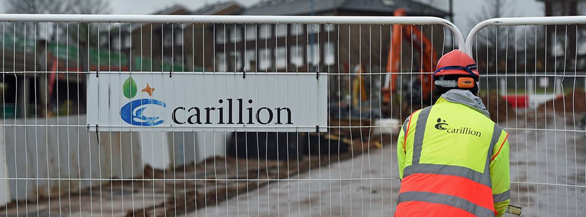 The Carillion crisis has thrust outsourcing back into the spotlight ©PA Images