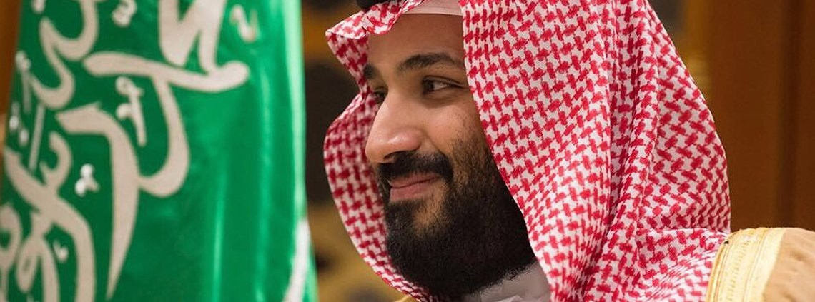 Crown prince Mohammed bin Salman is making his first official UK visit since he was made heir ©PA Images