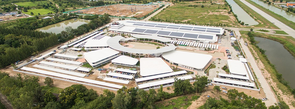 Pandora's Lamphun factory in Thailand opened in 2017 © Pandora
