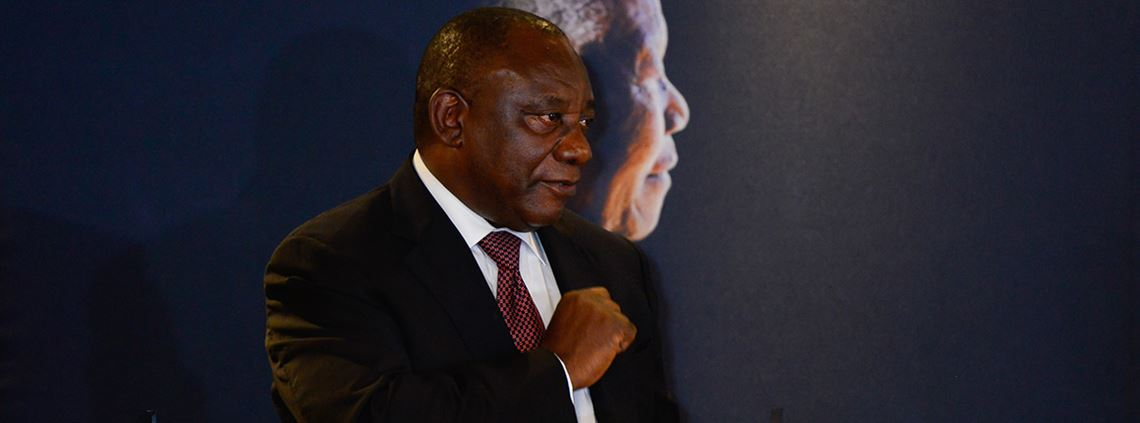 President Cyril Ramaphosa could generate a multi-billion dollar windfall by eliminating graft © Xinhua/Sipa USA/PA images