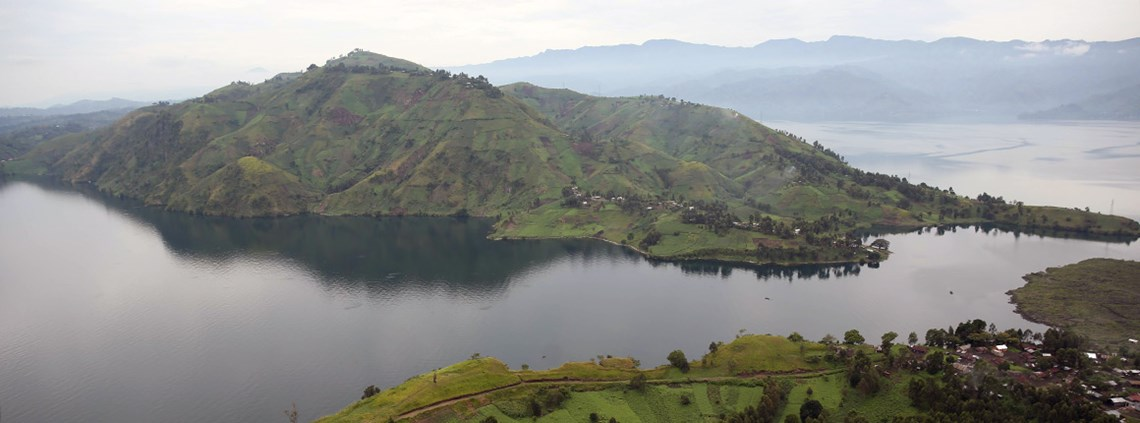 Harbour facilities will be built on Lake Kivu © Abel Kavanagh/Monusco