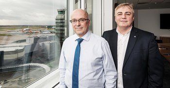 MAG's Charlie Cornish and George Owens have put procurement at the centre of the group's development plans ©Nick Fairhurst